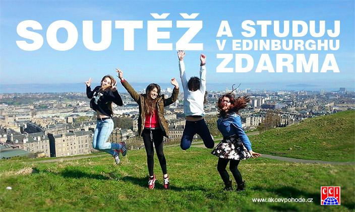 Soutěž a studuj v Edinburghu zdarma – Soutěž o týdenní jazykový kurz angličtiny