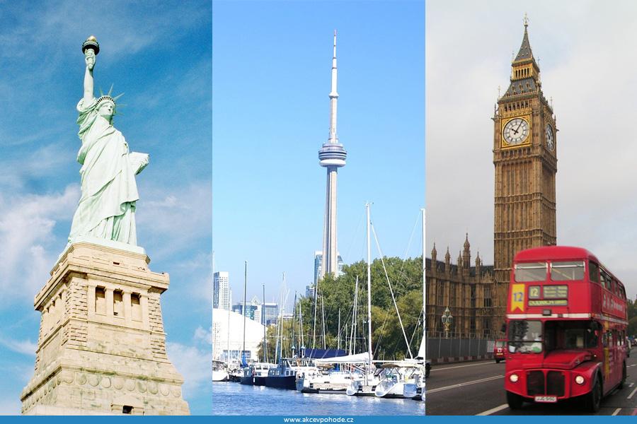 studium v USA, Kanadě a Velké Británii
