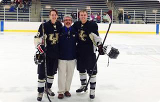 studium v USA s ledním hokejem
